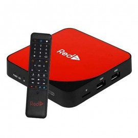 Receptor Super tv Red Pro Ultra HD 4K Wi-Fi 16GB