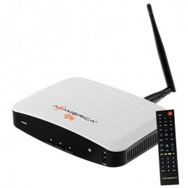Receptor Azamerica King Ultra HD 4K Wi-Fi ACM
