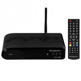 Receptor Globalsat GS-240 Ultra HD Wi-Fi ACM