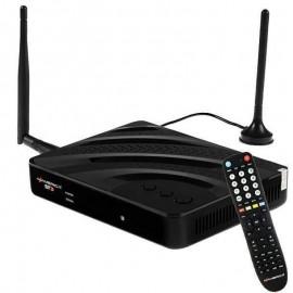 Receptor Azamerica ST3 4K Wi-Fi ACM Hibrido